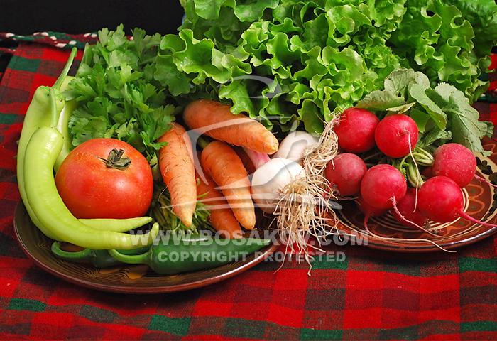 Пресни зеленчуци