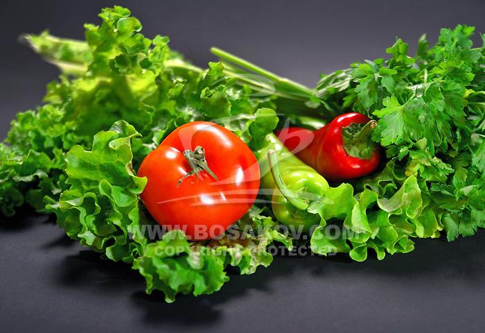 Снимки на плодове и зеленчуци