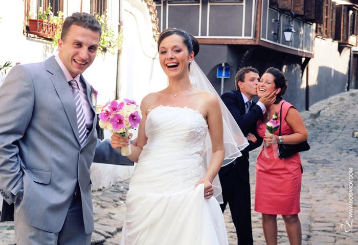 Сватбен фотограф от Пловдив