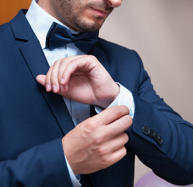 the Groom, приготовления на младоженецът