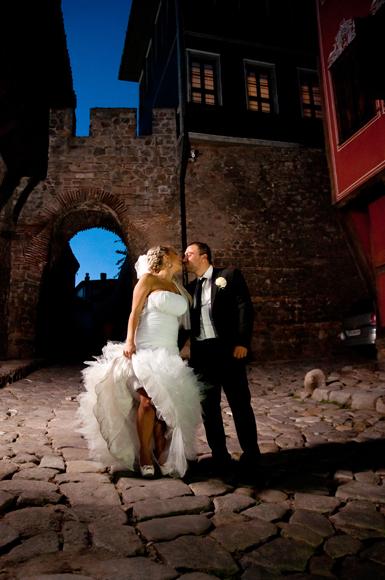 сватбена фотосесия - Хисар капия