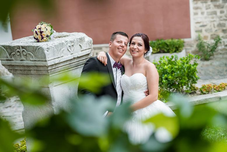 Сватбени снимки в Пловдив